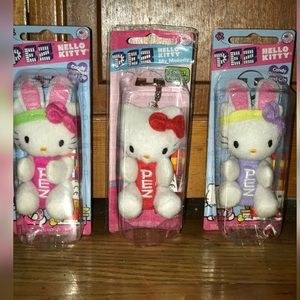 Hello Kitty plush pet dispensers